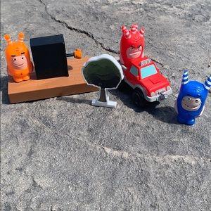 Oddbods figurines & accessories